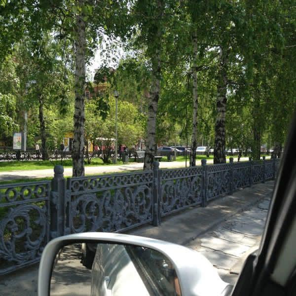 Фото Новые заборы для Красного проспекта начали отливать в Новосибирске 2