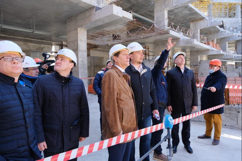 Фото Первый зампред Госдумы РФ высказался о строительстве ЛДС в Новосибирске 2