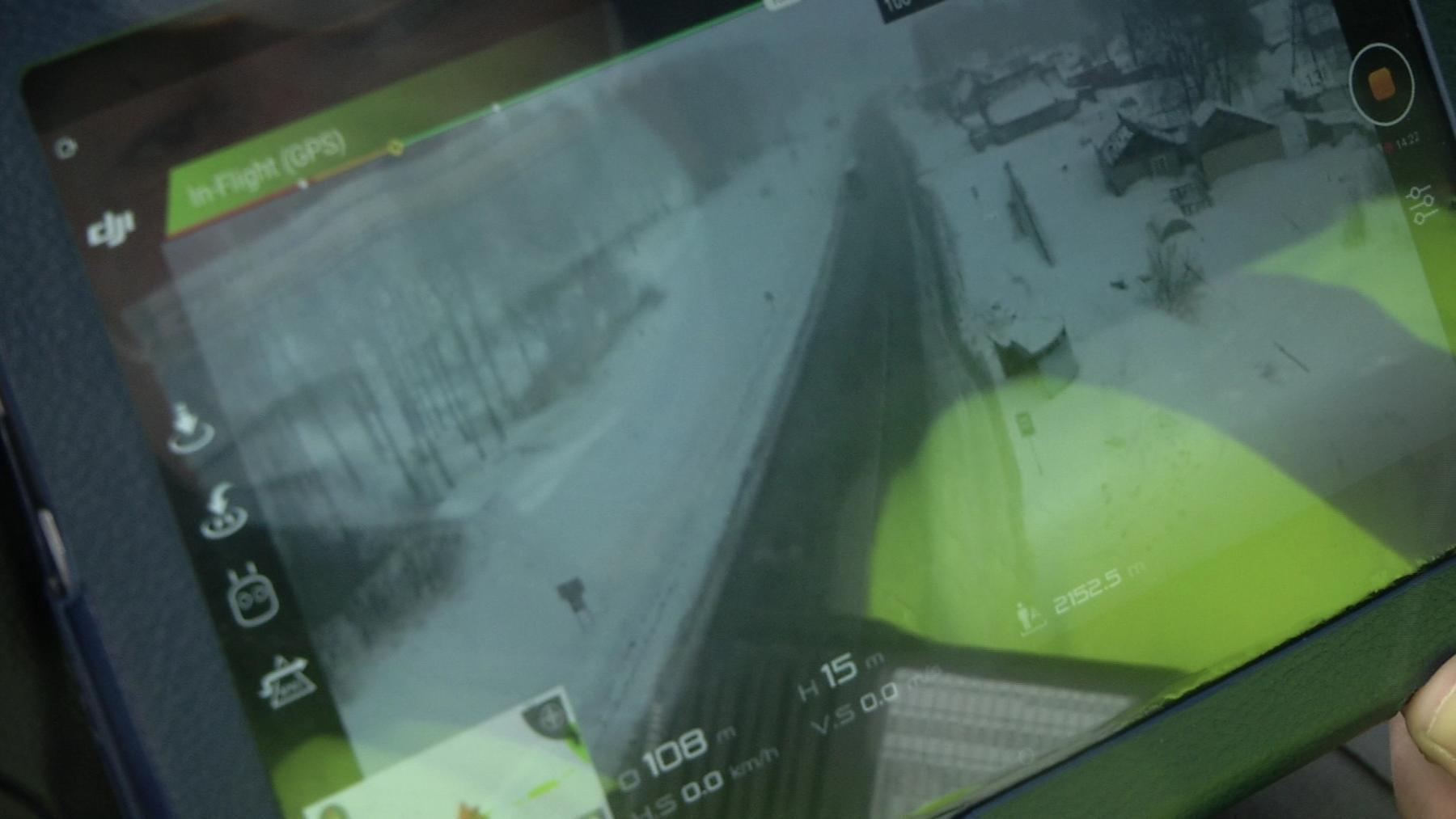 Фото Беспилотник подняли в небо для поиска нарушителей ПДД на трассах Новосибирской области 2