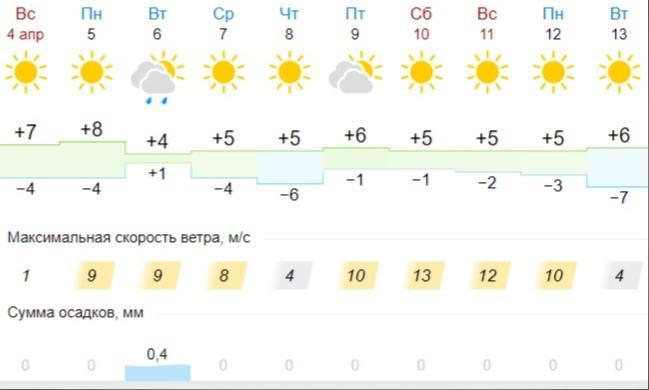 фото Плюсовая температура ожидается в Новосибирской области всю неделю 2