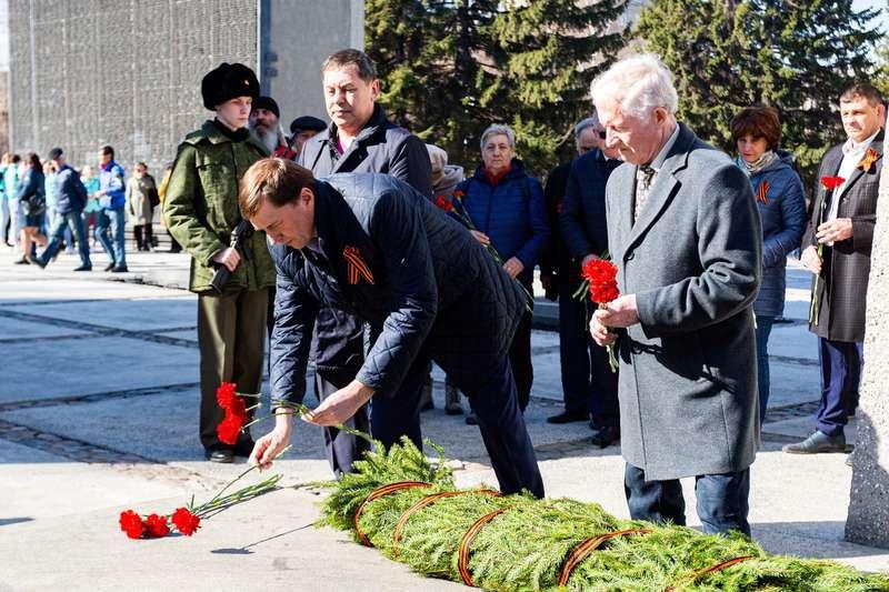 фото 72-я эстафета памяти воинов-сибиряков прошла в Новосибирске 4