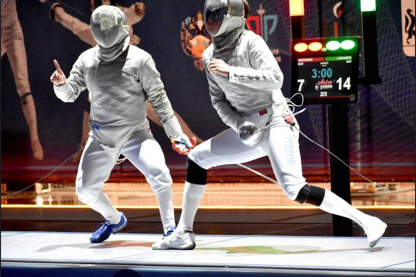 фото Первые победители определились на чемпионате России по фехтованию в Новосибирске 5