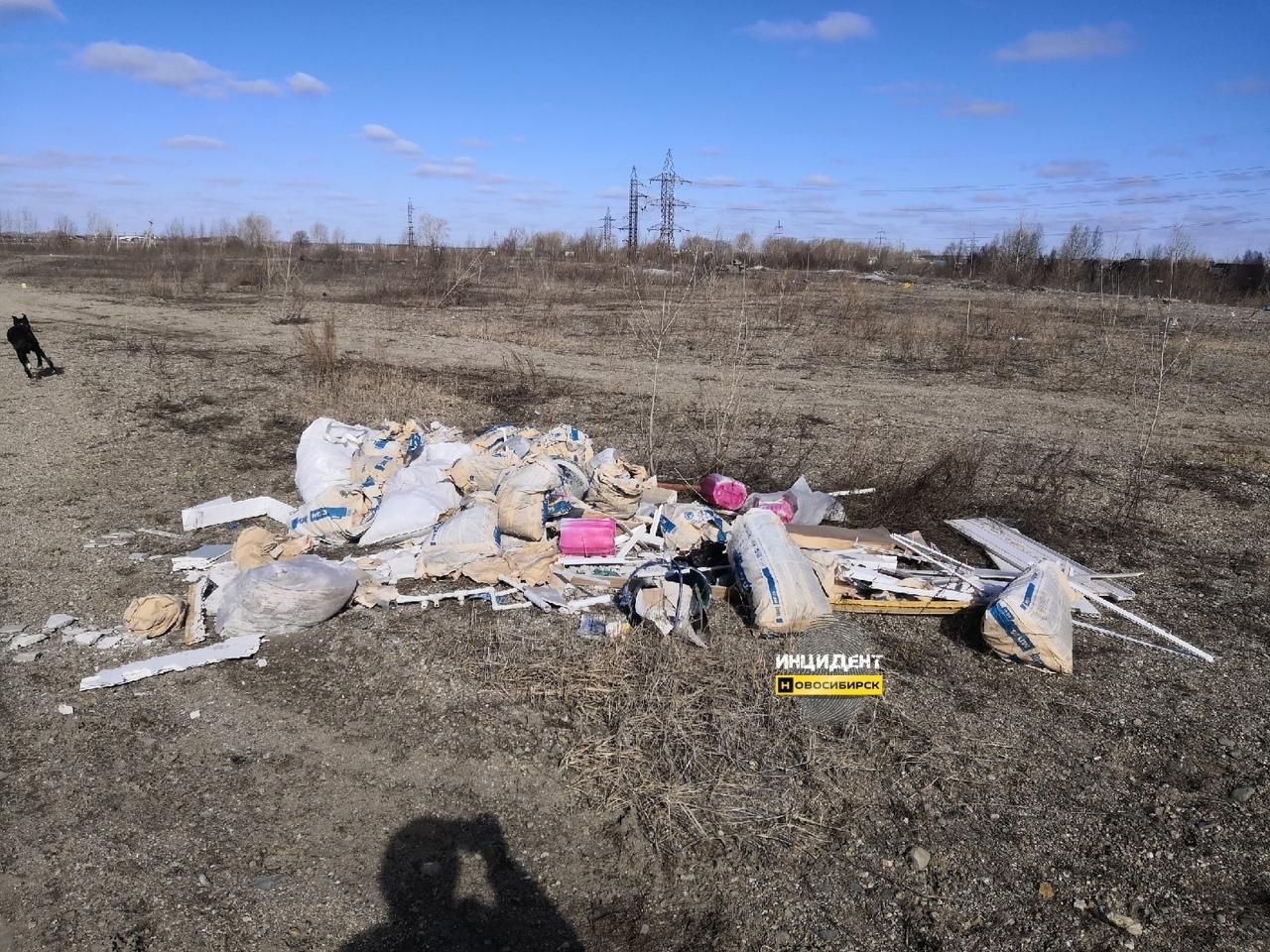 фото Горы мусора на берегу озера возмутили жителей Новосибирска 2