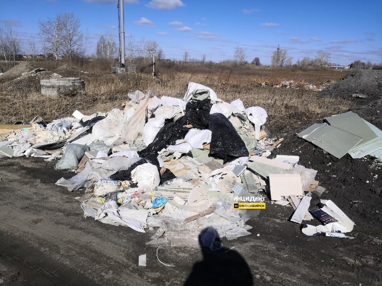 фото Горы мусора на берегу озера возмутили жителей Новосибирска 3