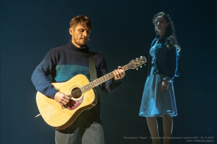 фото Новосибирский музыкальный театр представит рок-мюзикл «Фома» на фестивале «Золотая маска» 2