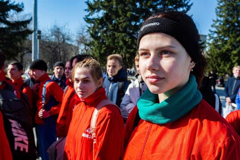 фото 72-я эстафета памяти воинов-сибиряков прошла в Новосибирске 3