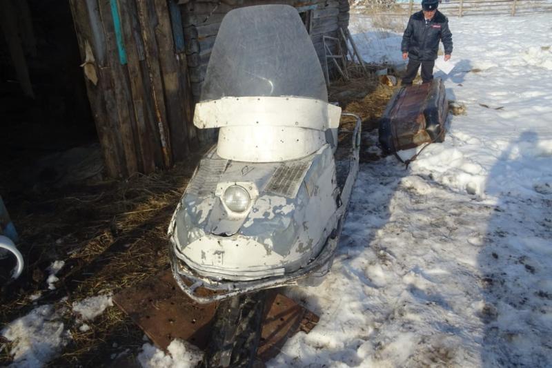 фото Тушу лося изъяли у браконьера под Новосибирском 3