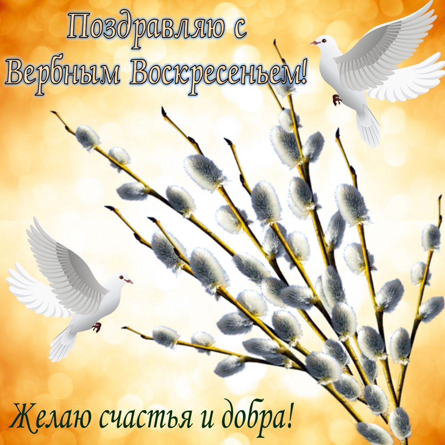 Фото Вербное воскресенье 25 апреля: красивые открытки и душевные поздравления 11