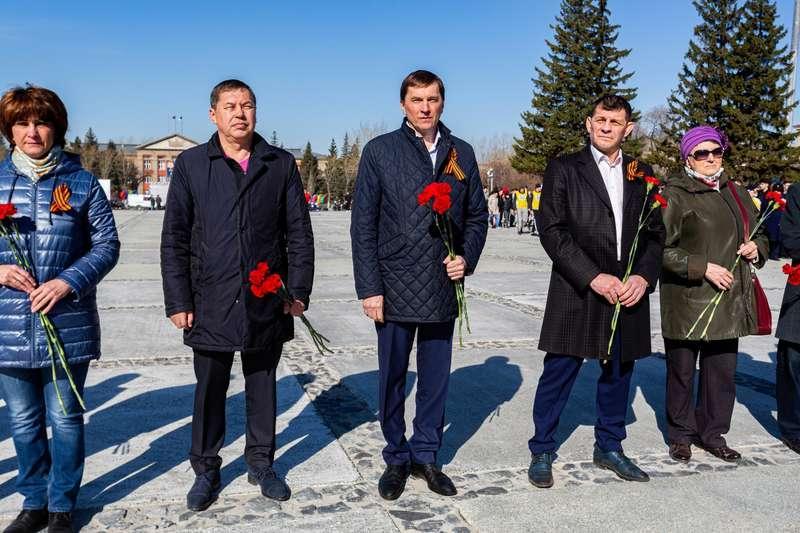 фото 72-я эстафета памяти воинов-сибиряков прошла в Новосибирске 8