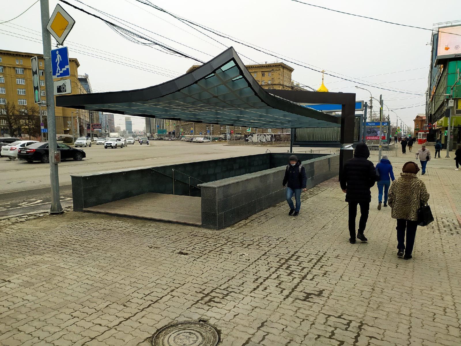 фото Подземный переход открыли на Красном проспекте в Новосибирске: 9 фото после реконструкции 3