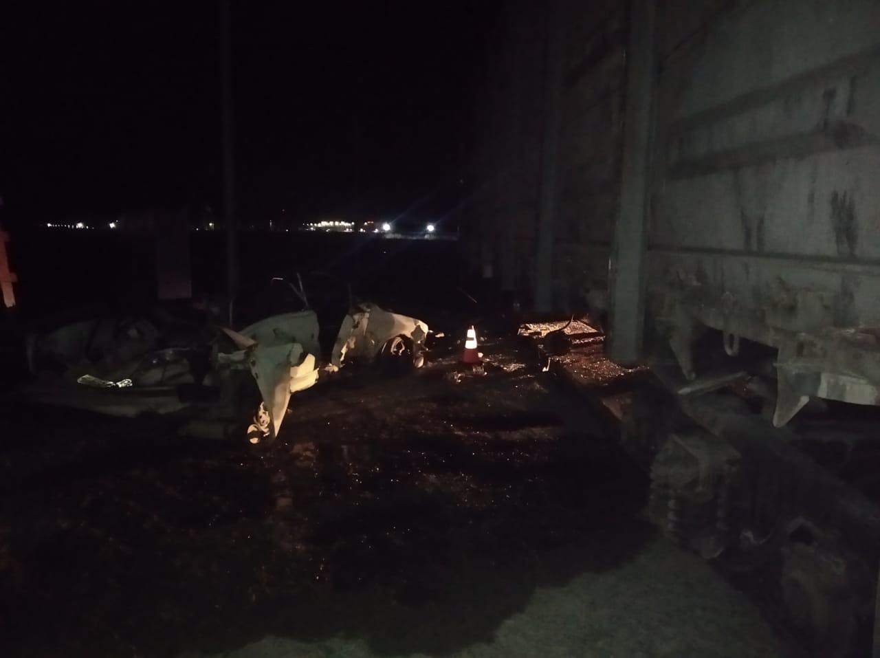 фото Полицейский погиб в ночном ДТП с брошенным вагоном под Новосибирском 2