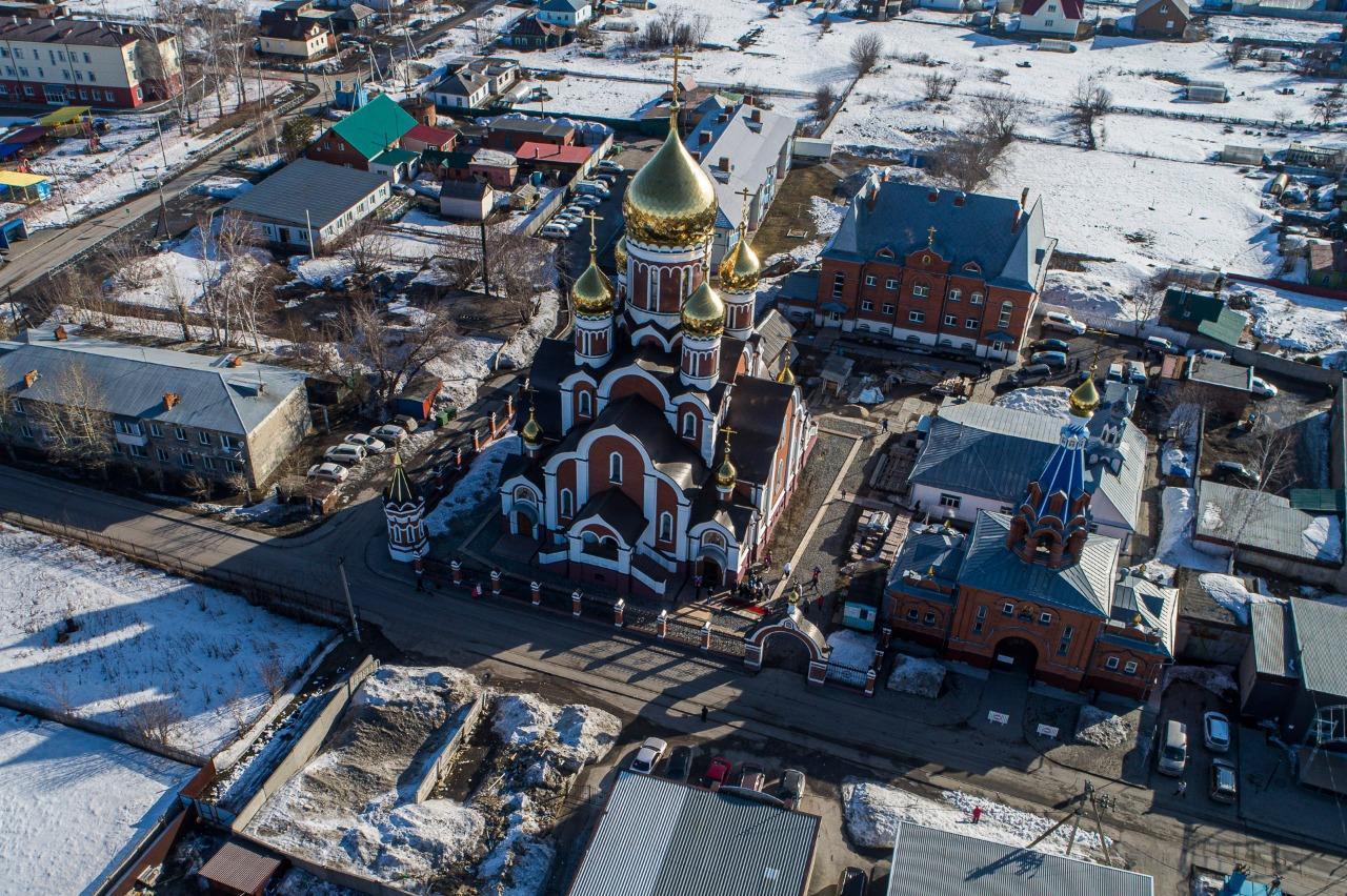 фото Храм в честь иконы Божией Матери открыли в Мочище под Новосибирском 3