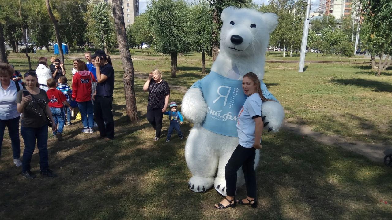 Фото Новосибирцы преобразили сквер за НОВАТом в рамках акции «Посади своё дерево» 6
