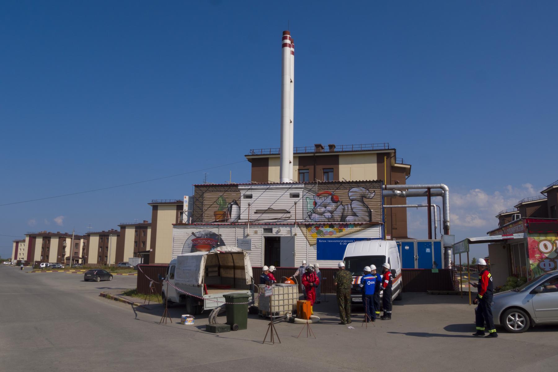 Фото Разлив топлива: люди в химзащите шокировали жителей посёлка под Новосибирском 6
