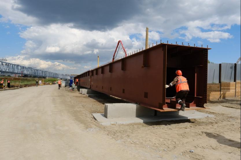 Фото Четвёртый мост через Обь обеспечивает работой строителей и предприятия Новосибирской области – Травников 5
