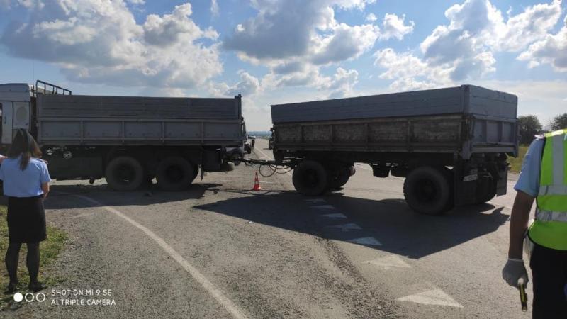 фото Страшные кадры с места смертельного ДТП под Новосибирском опубликовала полиция 2
