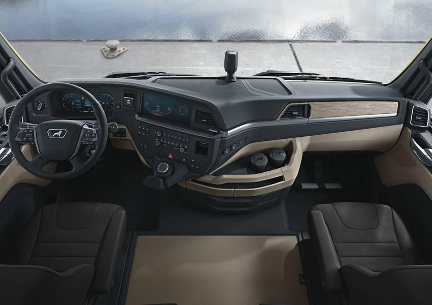 Фото Экономичный, комфортный, надёжный: компания MAN представила в Новосибирске грузовик нового поколения 3