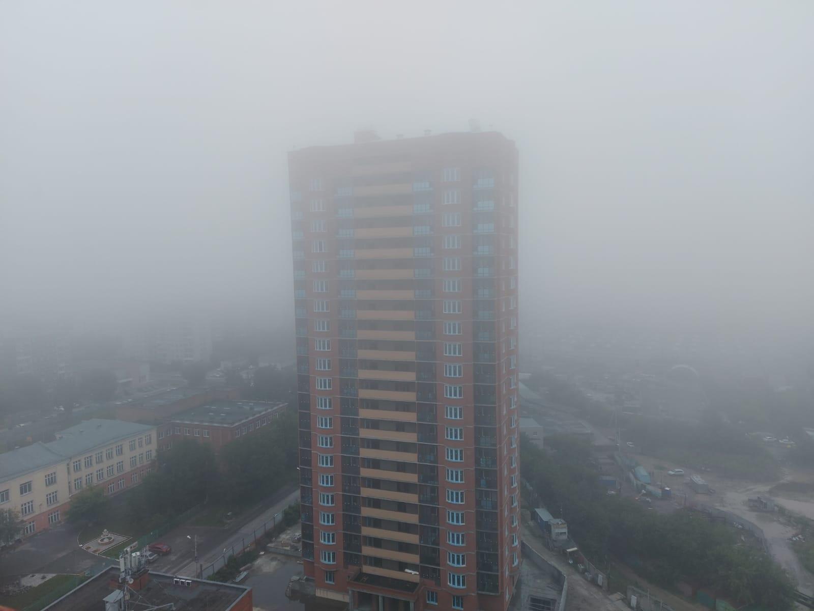 Фото «Выглядит жутковато»: новосибирцы делятся в соцсетях мистическими фото утреннего тумана 3