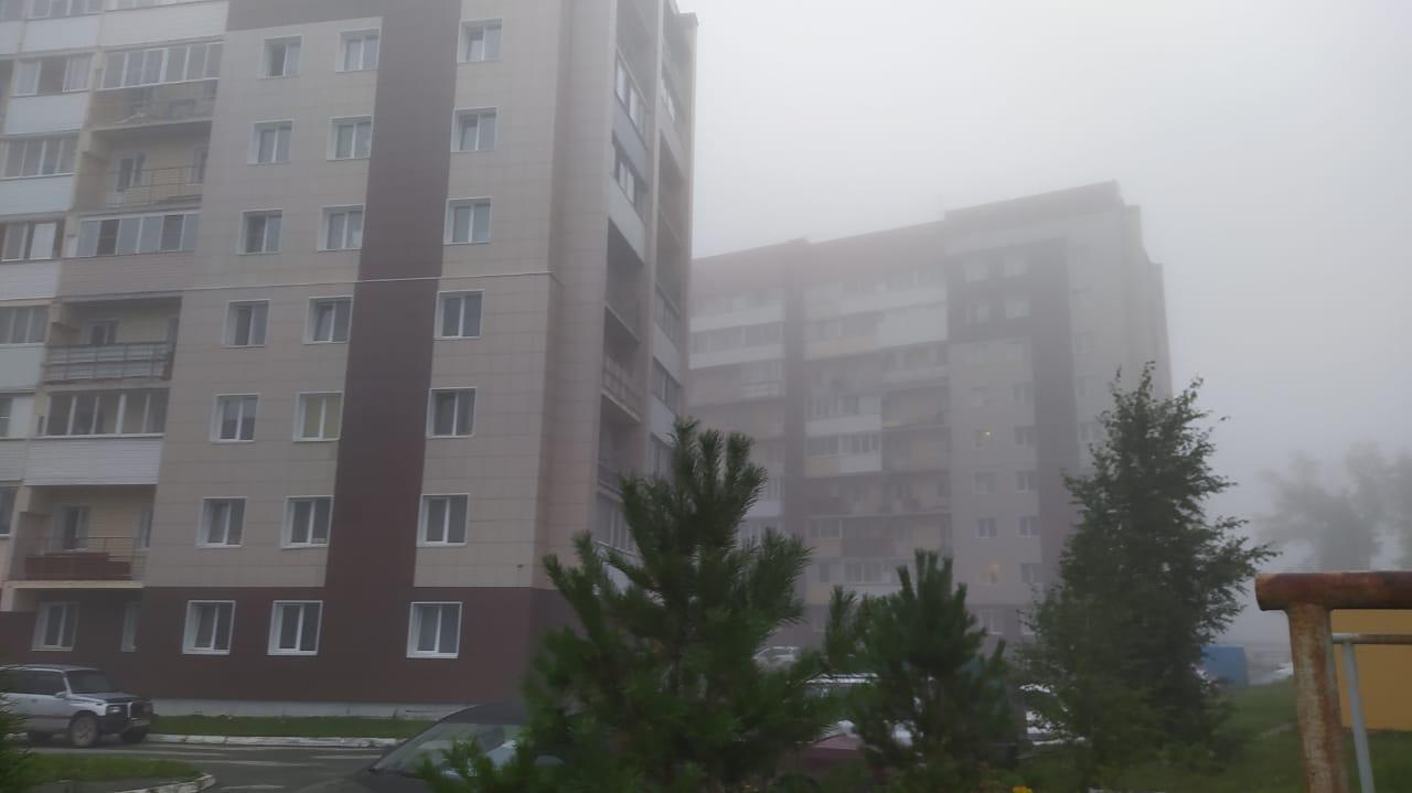 Фото «Выглядит жутковато»: новосибирцы делятся в соцсетях мистическими фото утреннего тумана 4