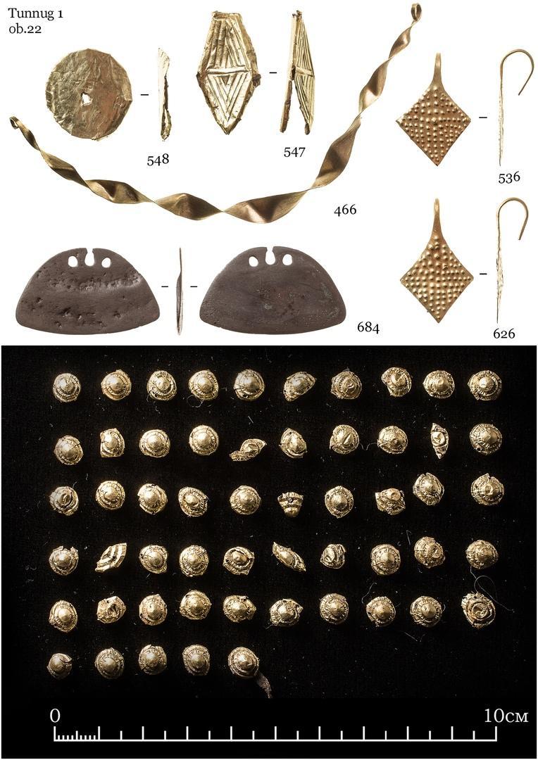 Фото Гробницу молодой принцессы в окружении золотых украшений нашли археологи в Долине Царей в Тыве 2