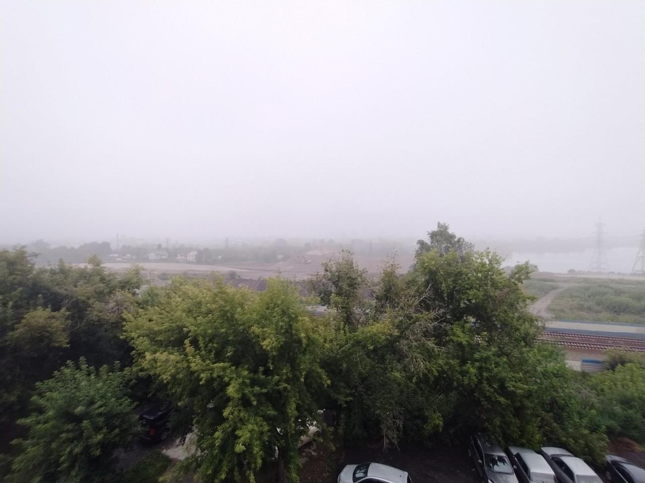 Фото «Таинственный туман или смог?»: повышенный уровень загрязнения воздуха зафиксирован в Новосибирске 3