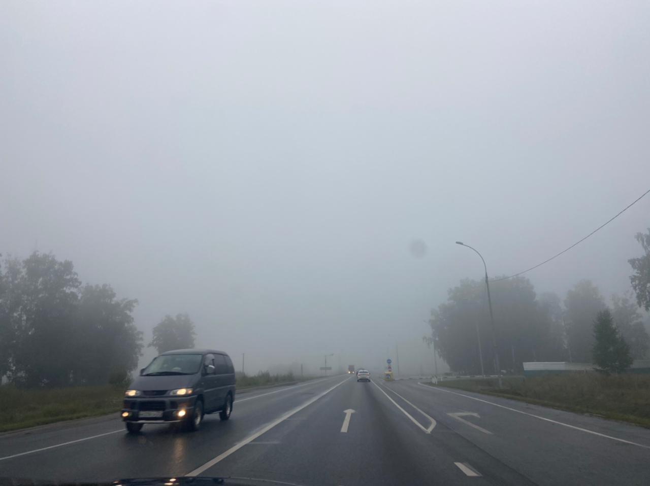 Фото «Выглядит жутковато»: новосибирцы делятся в соцсетях мистическими фото утреннего тумана 7
