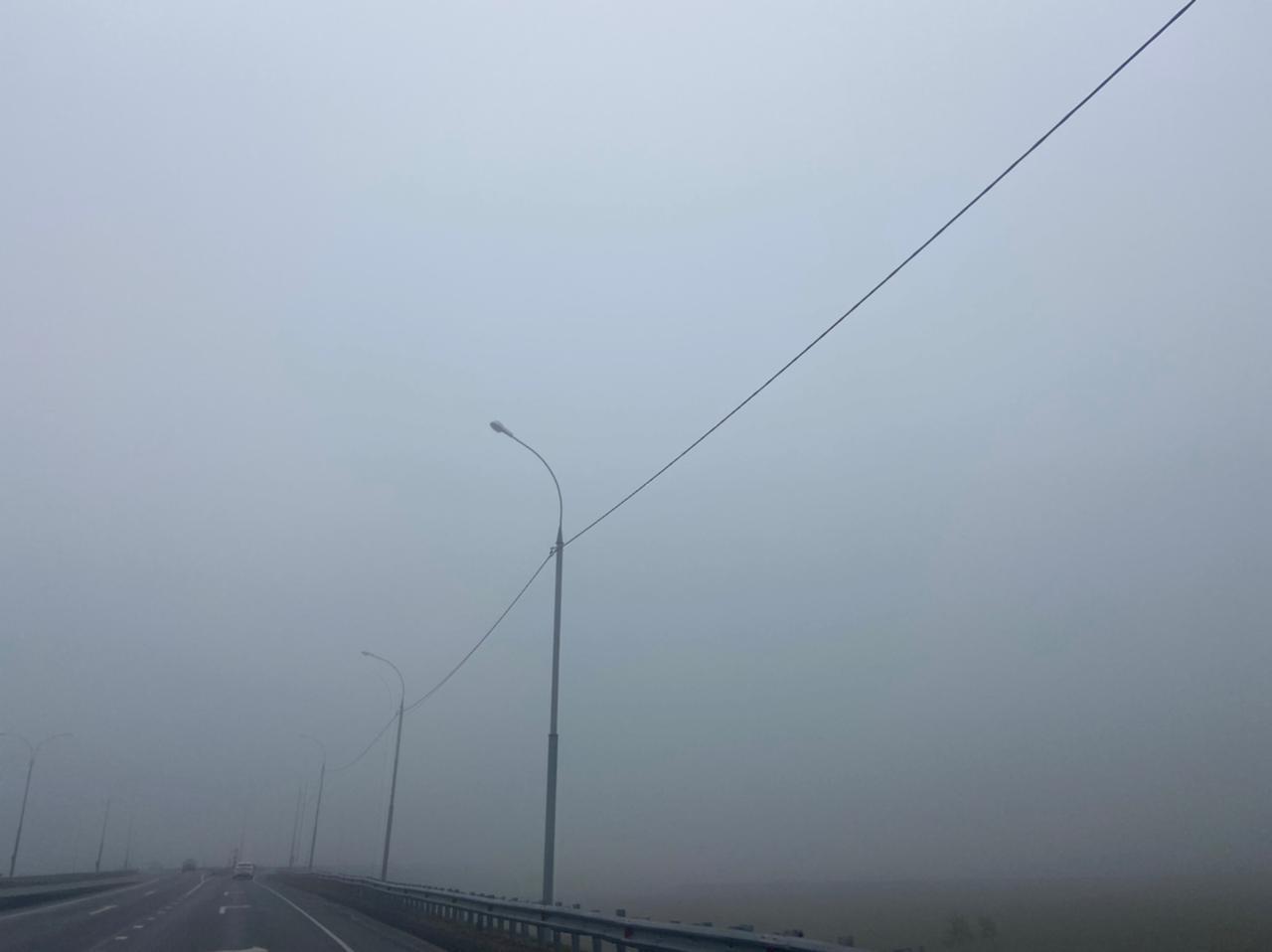 Фото «Выглядит жутковато»: новосибирцы делятся в соцсетях мистическими фото утреннего тумана 10