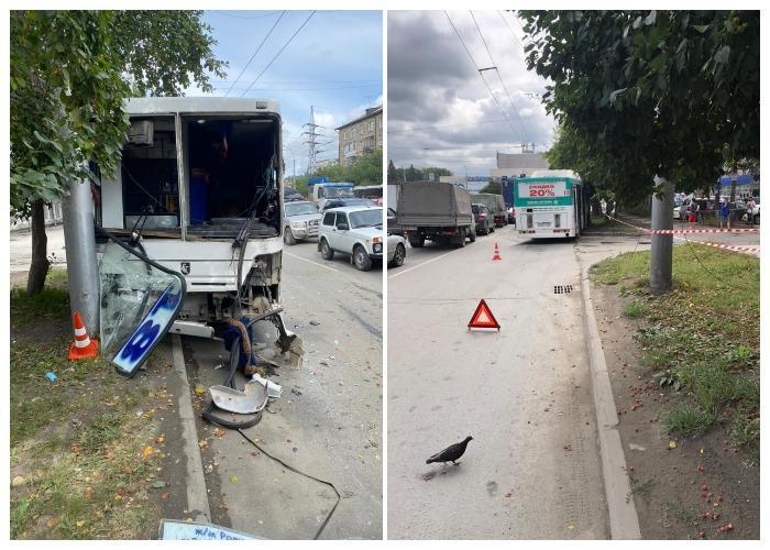 Фото 4 женщины пострадали в ДТП с автобусом и «Газелью» в Новосибирске 2