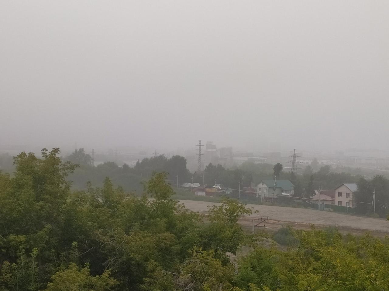 Фото «Таинственный туман или смог?»: повышенный уровень загрязнения воздуха зафиксирован в Новосибирске 2