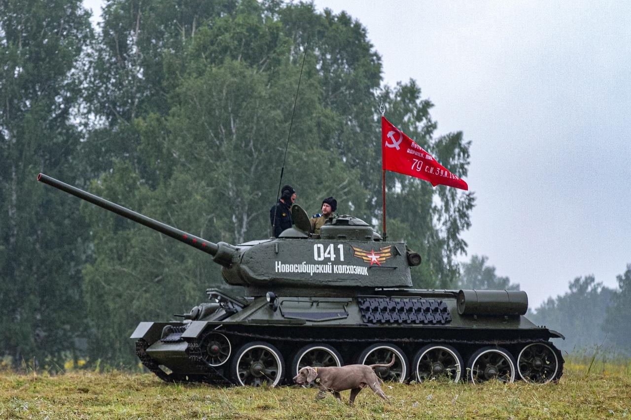 Фото Викинги и танки: лучшие фото фестиваля реконструкторов «Сибирский огонь – 2021» 13