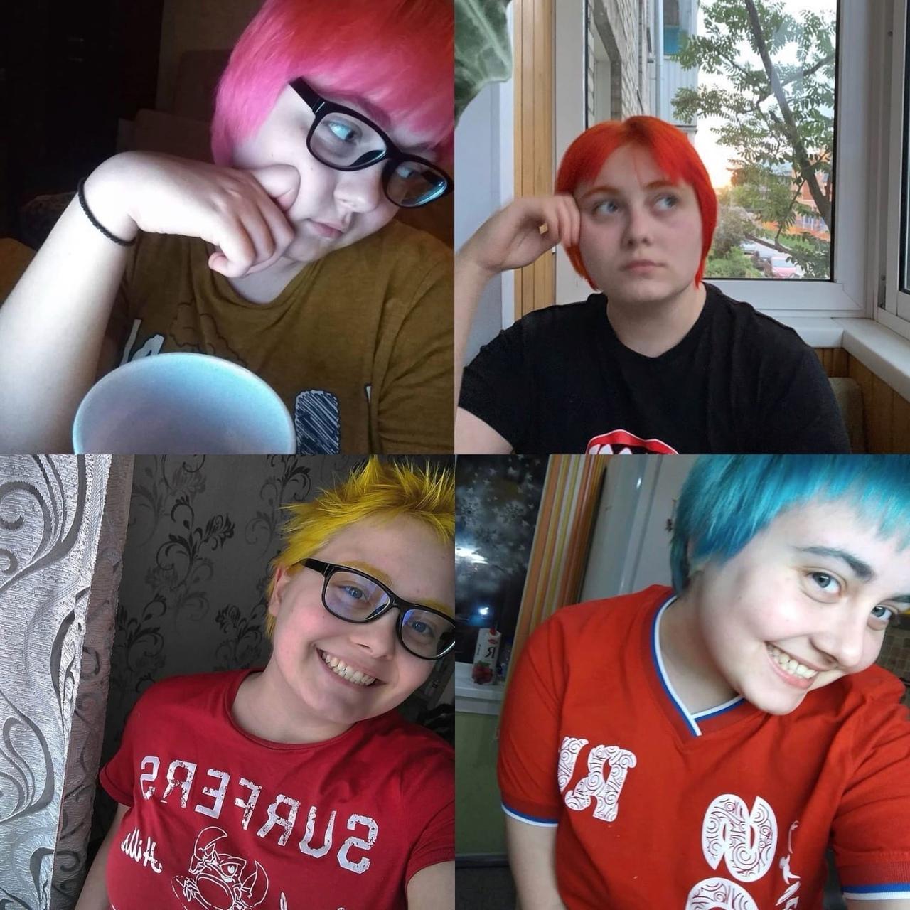 фото Девочки-павлины: Новосибирск захватывает мода на цветные волосы – зачем девушкам синие пряди и почему психологи только за 3