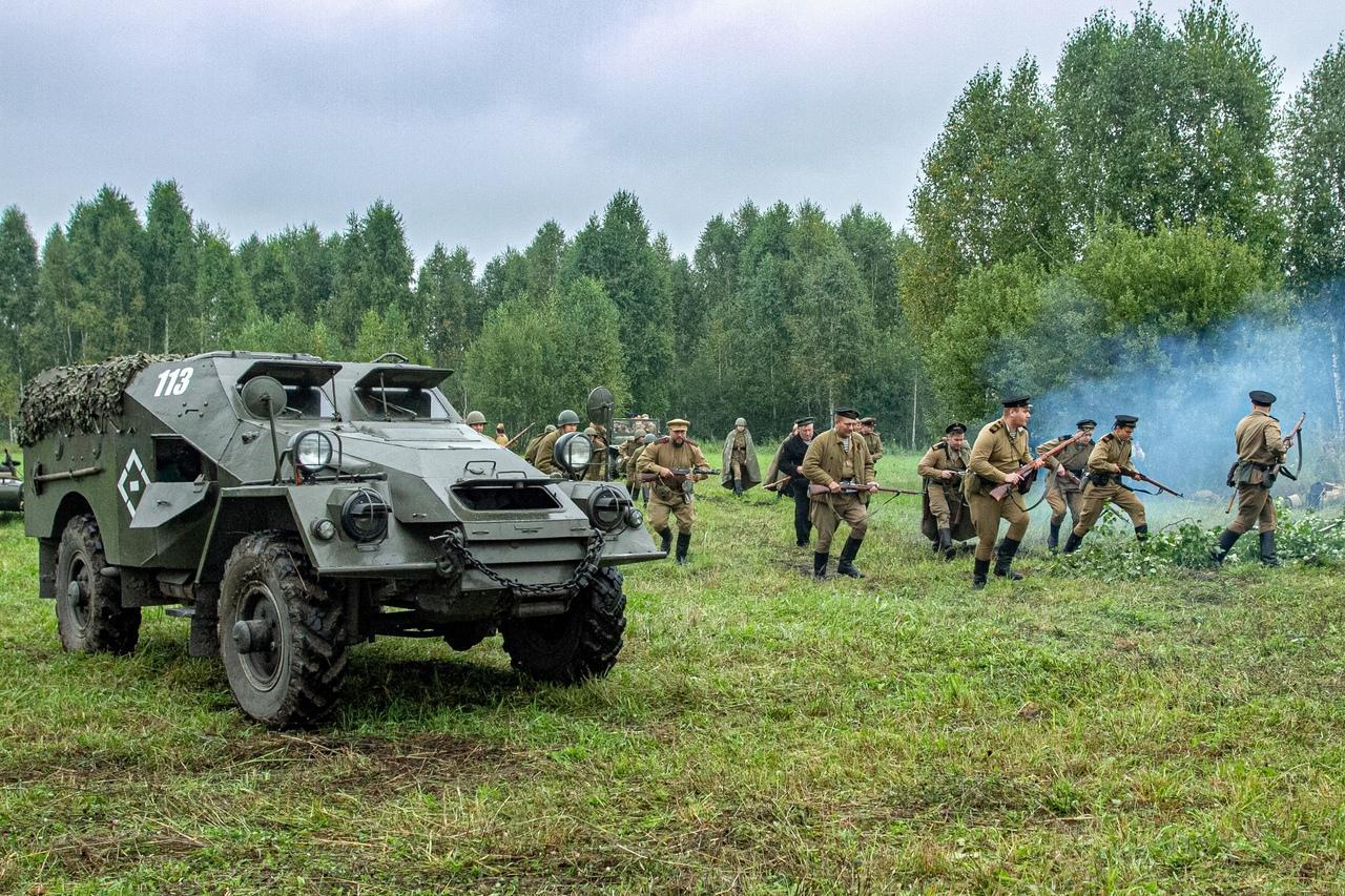 Фото Викинги и танки: лучшие фото фестиваля реконструкторов «Сибирский огонь – 2021» 9