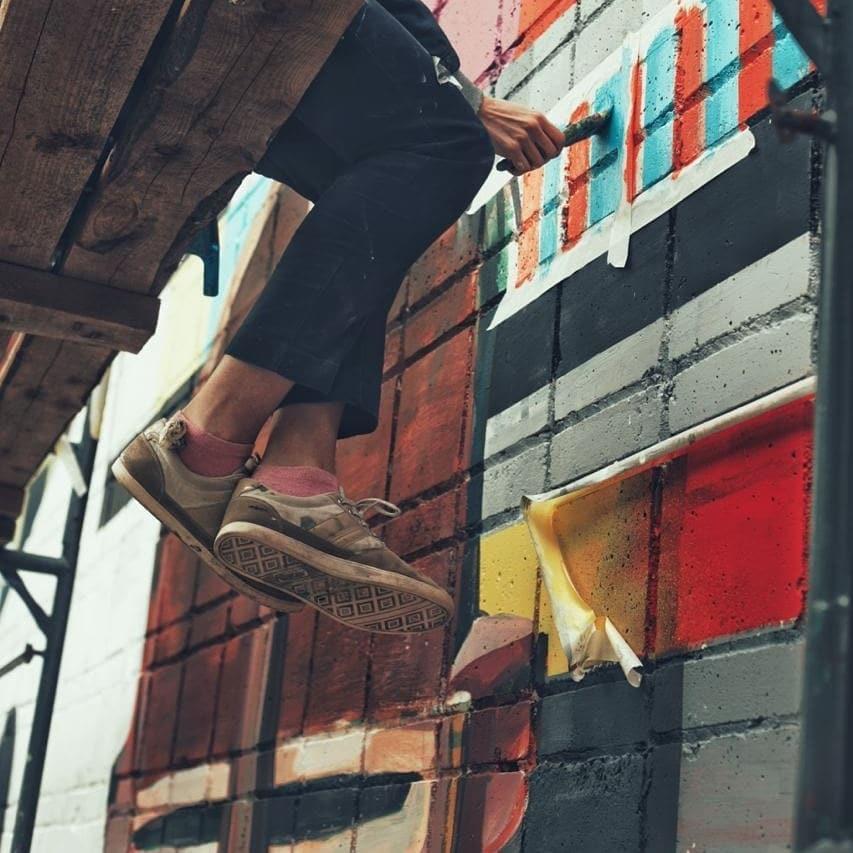Фото Первый стрит-арт фестиваль новосибирских художников пройдёт в Шерегеше 3