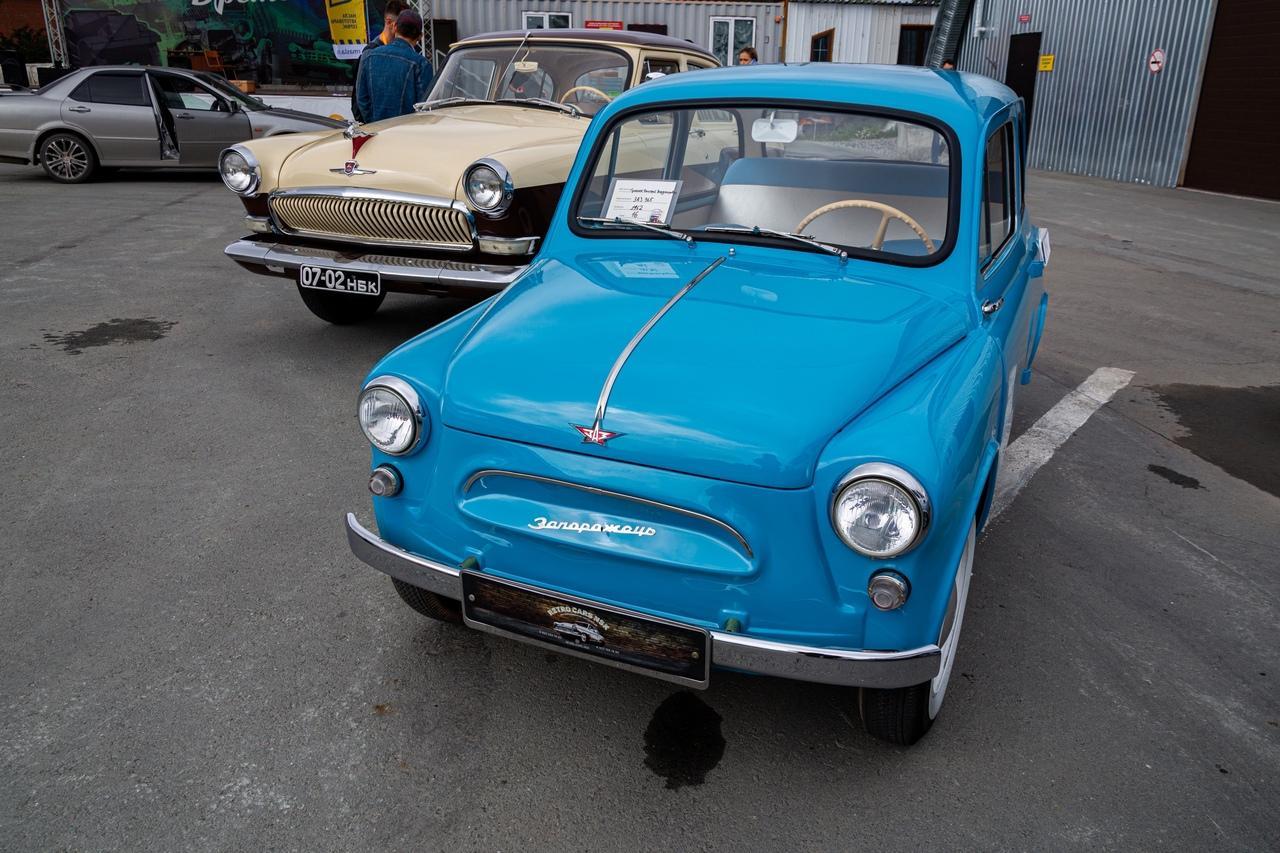 Фото «С каждым годом они становятся ценнее: за что в Новосибирске любят машины эпохи СССР 4