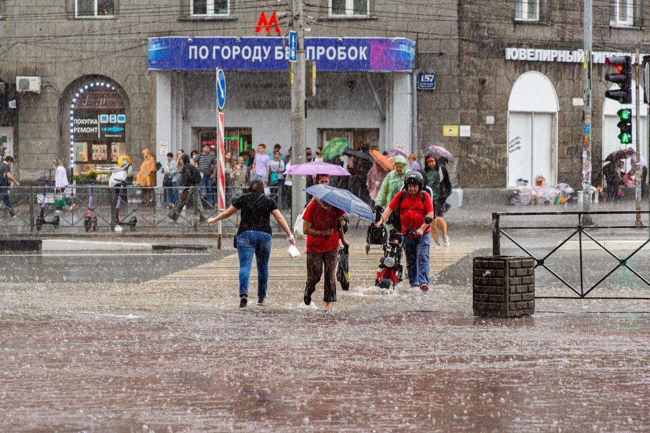 Фото Ливни и грозы ожидаются в выходные 7 и 8 августа в Новосибирске 2