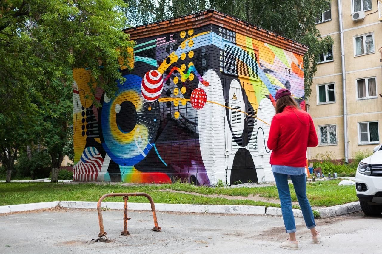 Фото Граффити новосибирских художников хотят закрасить в Академгородке 2