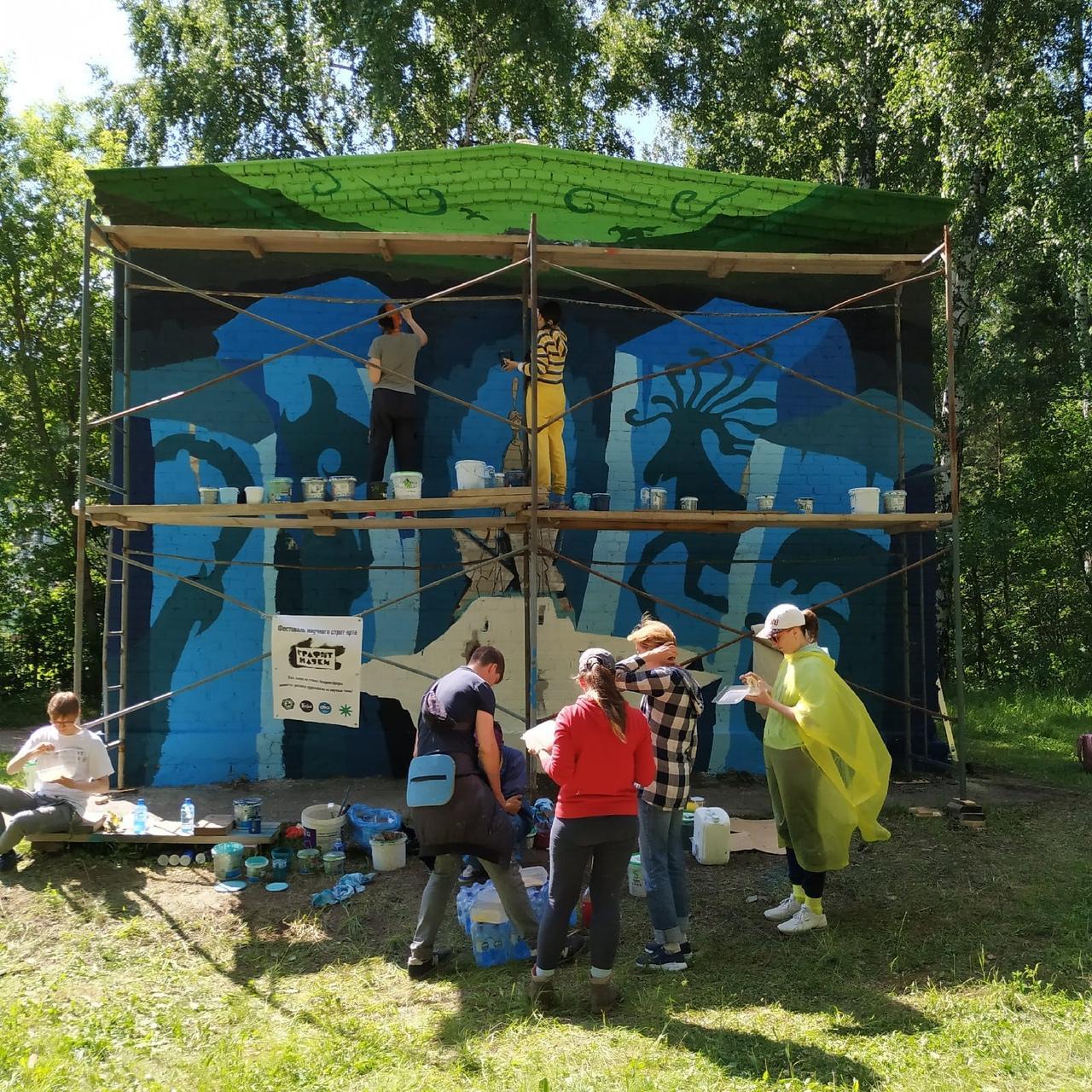 Фото «Стрит-арт – адекватная изюминка города»: что думают о демонтаже граффити в Академгородке представители культуры в Новосибирске 2