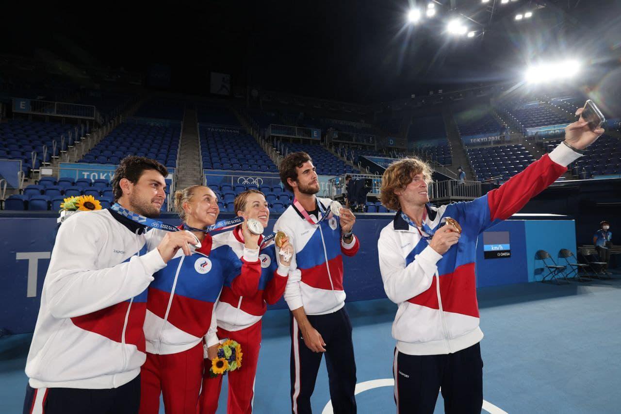 Фото Все 58 медалей России на Олимпиаде в Токио к 6 августа 2021 года – полный список чемпионов и призёров 6