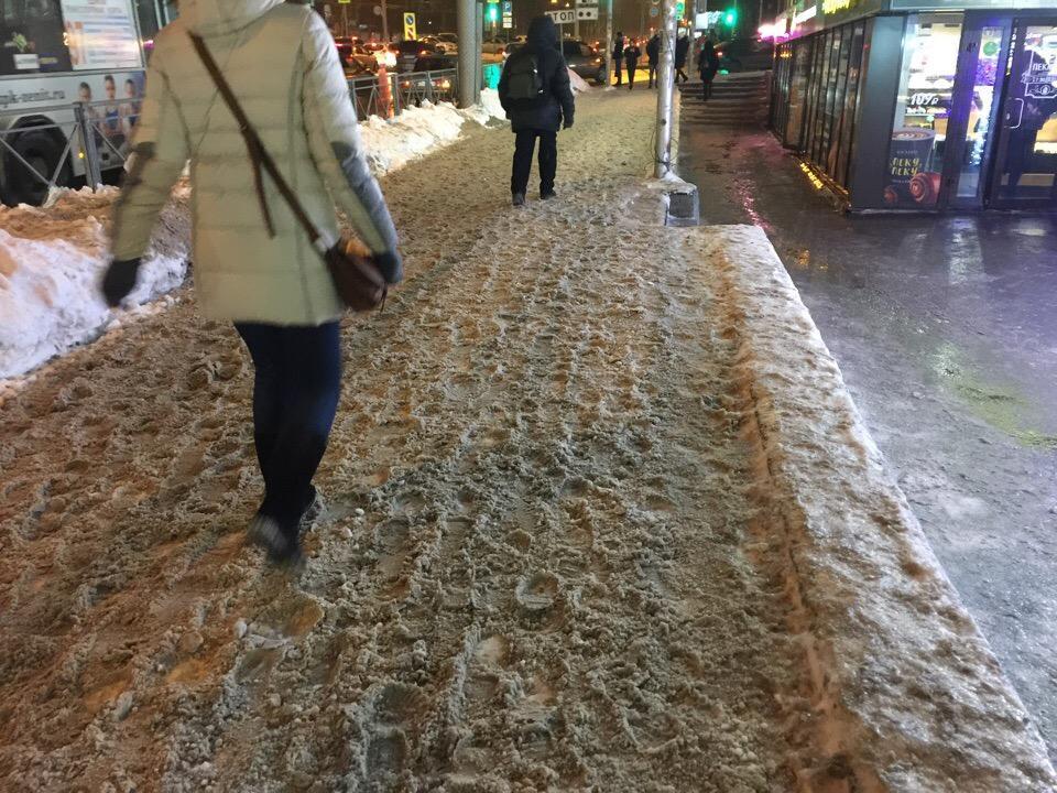 фото Горшочек, не вари: дороги Новосибирска превратились в кашу 10
