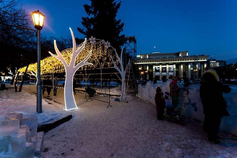 Фото «Это просто праздник какой-то»: 20 сказочных фото Новосибирска для новогоднего настроения 14