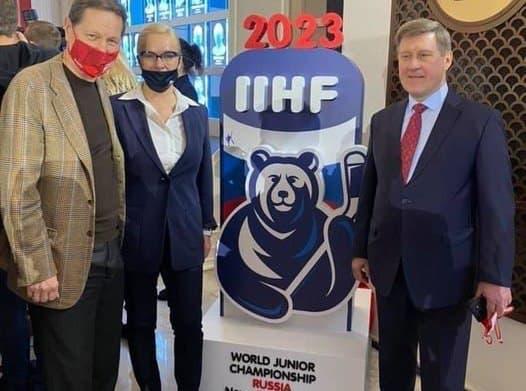 фото Медведи – водка – балалайка: вице-мэр Новосибирска Терешкова рассказала, каким должен быть логотип МЧМ-2023 по хоккею 2