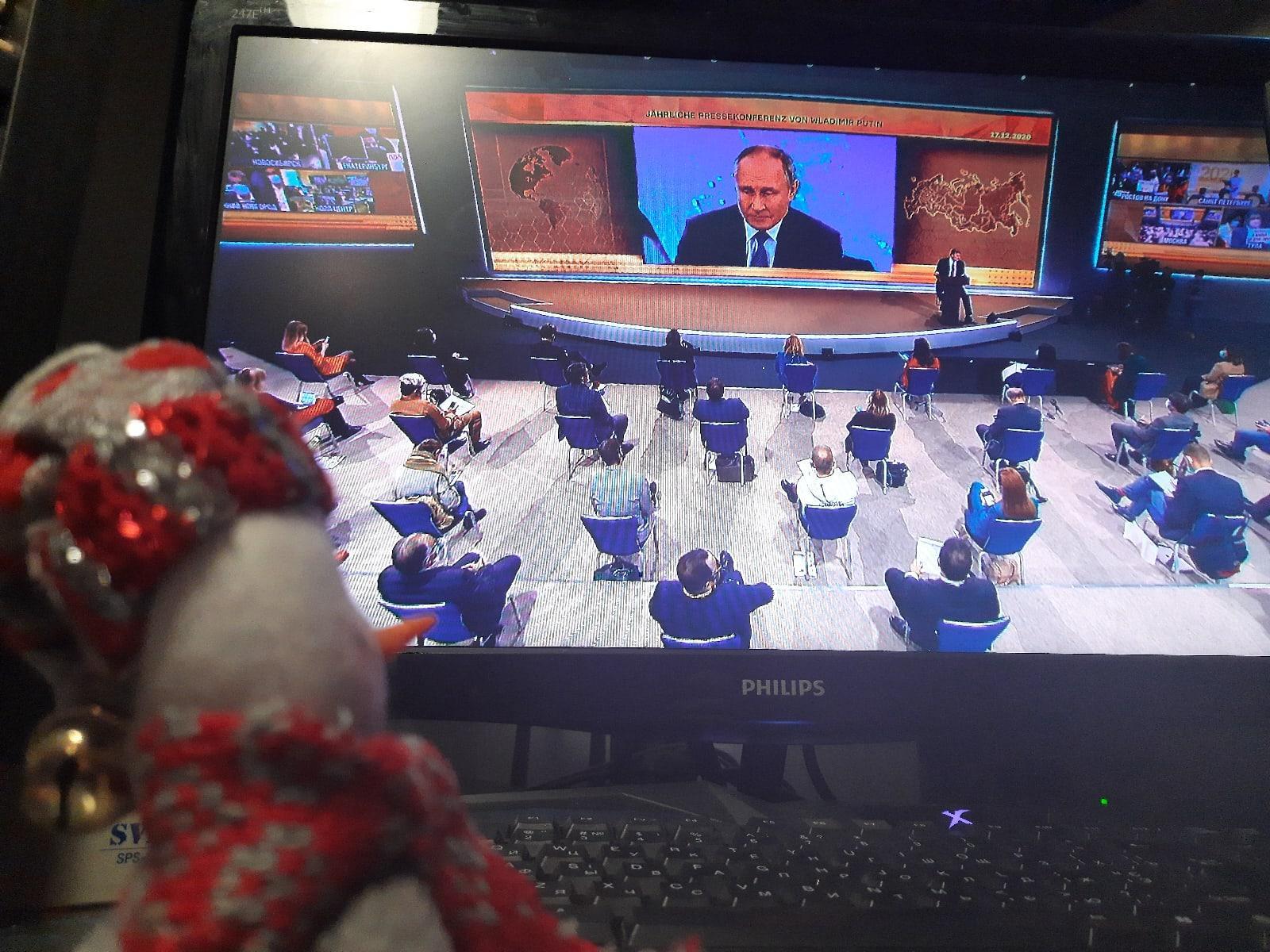 Фото Прямая линия с Путиным - онлайн-трансляция 3