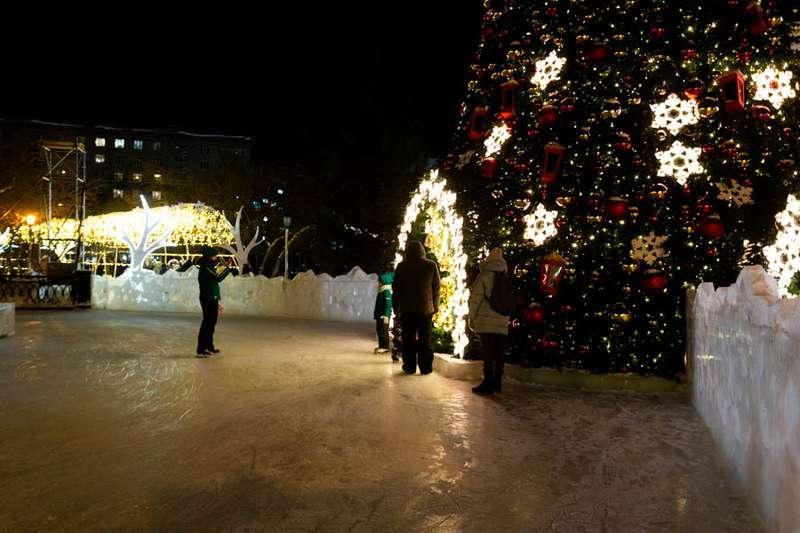 Фото «Это просто праздник какой-то»: 20 сказочных фото Новосибирска для новогоднего настроения 8