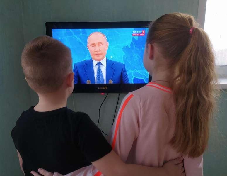 Фото Прямая линия с Путиным - онлайн-трансляция 7