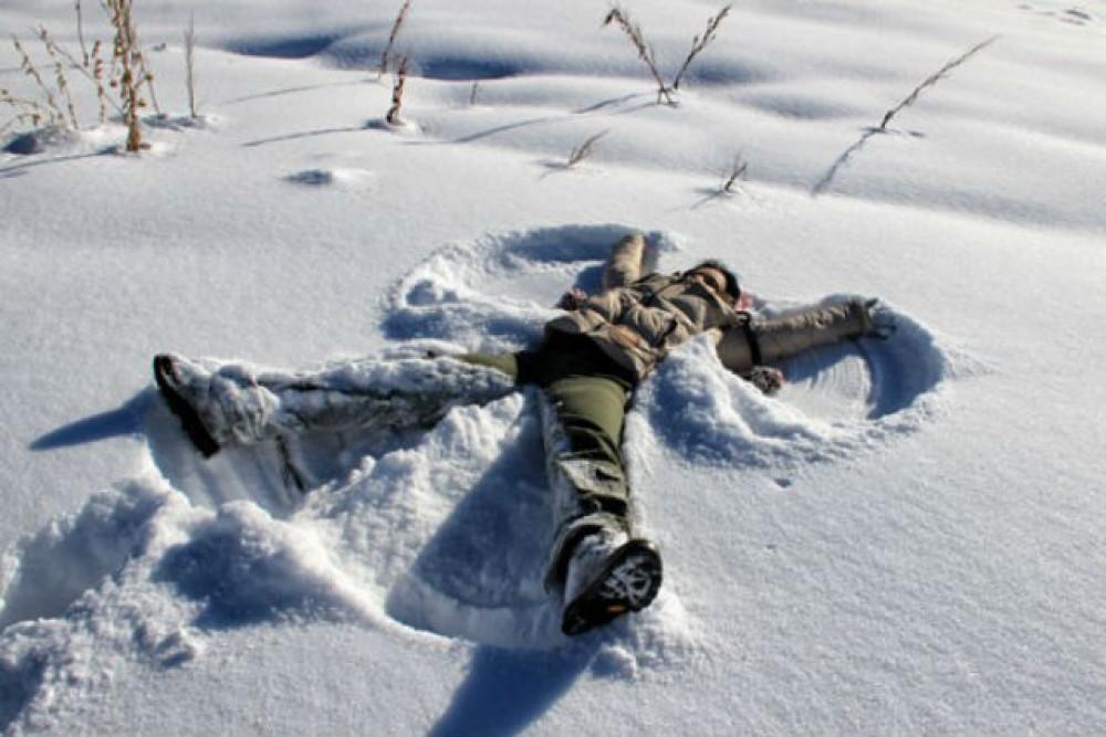 человек лежащий на снегу картинки рецепт паштета