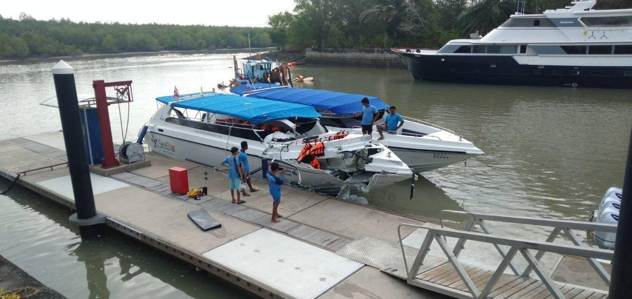 Очевидцы рассказали подробности столкновения катеров в Таиланде