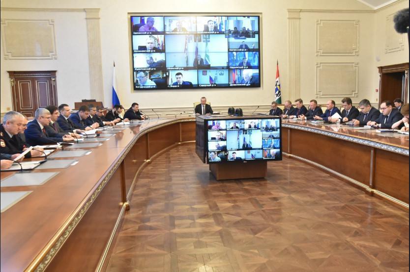 Фото Андрей Травников поручил немедленно приступить к реализации президентских мер по поддержке бизнеса и граждан в Новосибирской области 2
