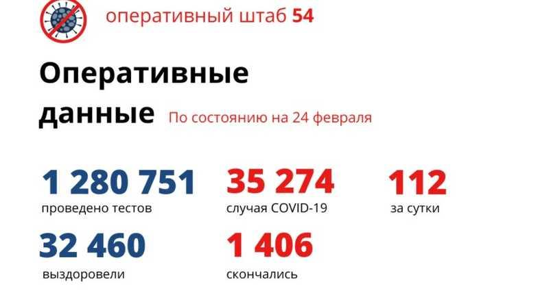 фото Коронавирус в Новосибирске: количество умерших от COVID-19 к 25 февраля 2021 года 2