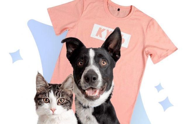 Фото Юла и Barking Store выпустили эксклюзивную футболку с принтом «КУСЬ» 2
