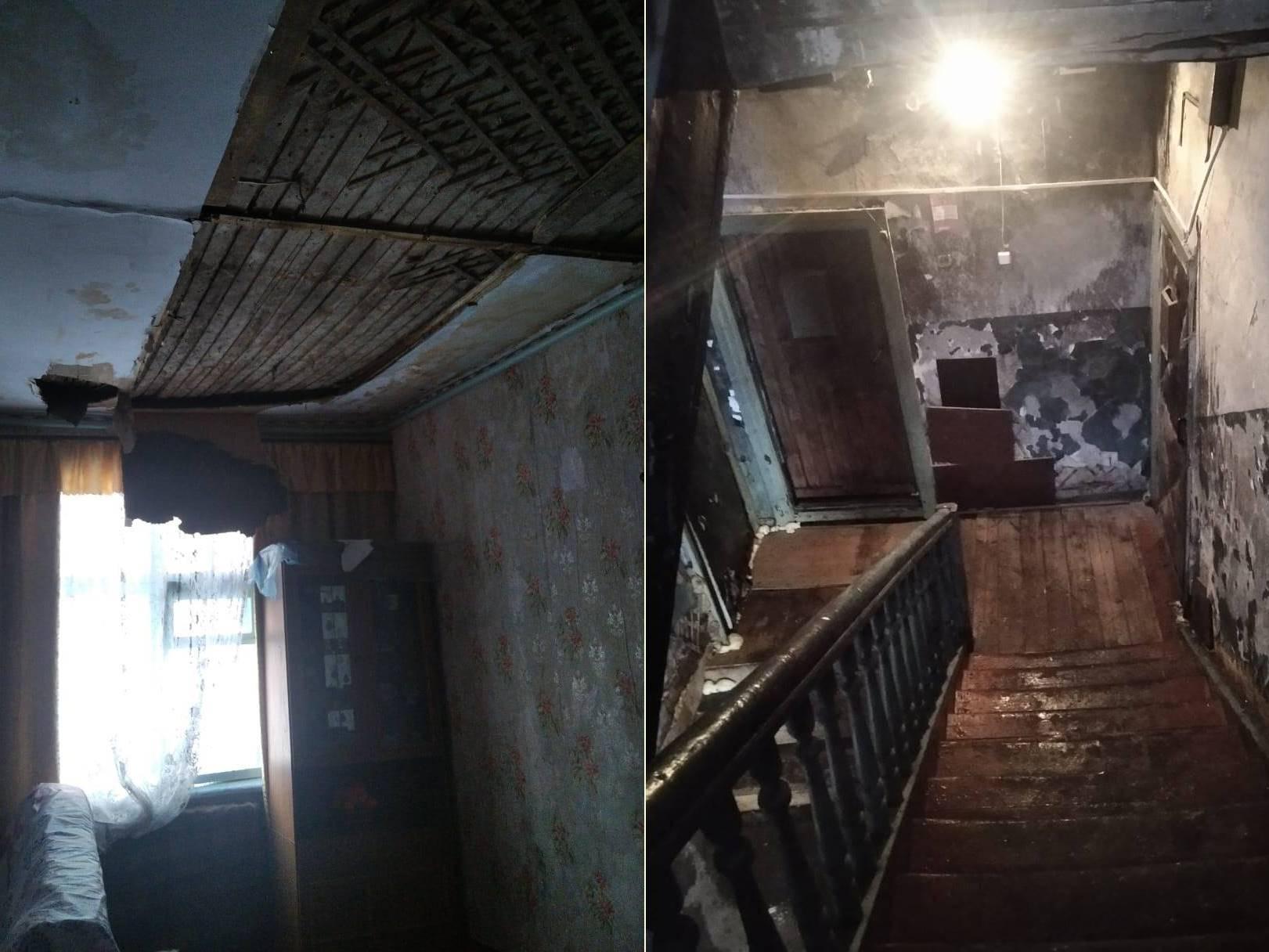 Фото «Адские трущобы 21 века»: десять жутких фото из затопленного кипятком аварийного дома в Новосибирске 5